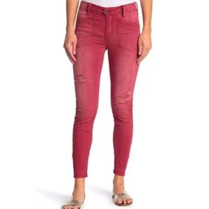 New Free People We The Free Ivy Distressed Jeans